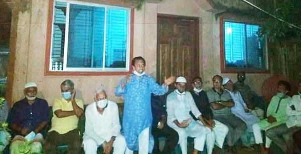 ৫নং গঞ্জ ভাঙ্গাবাড়ী দরগাপট্টিতেজন্মে হয়েছি ধন্য-সাইদুর রহমান বাচ্চু