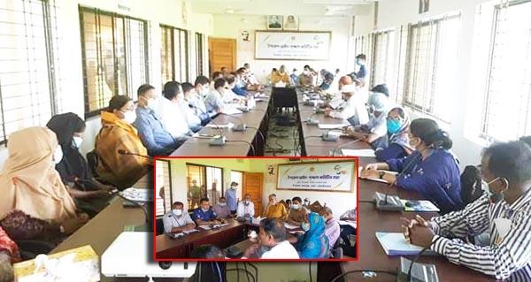 কমলগঞ্জ উপজেলা আইন শৃঙ্খলা কমিটির মাসিক সভা