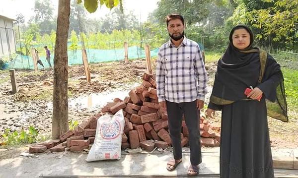 কমলগঞ্জ পৌর এলাকায় নির্মাণাধীনলেবাছ মিয়া তরফদার হাফিজিয়া মাদরাসার অভিযাত্রা শুরু