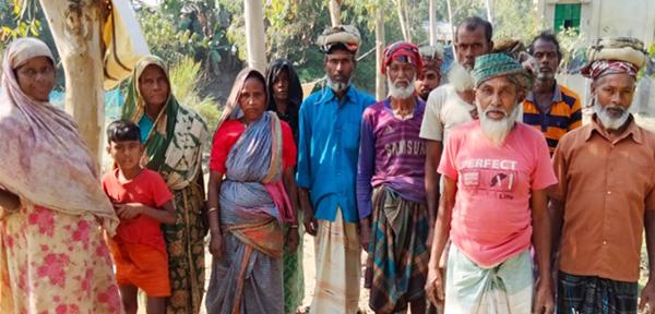 উল্লাপাড়ার কয়ড়া ইউনিয়নে কর্মসৃজন প্রকল্পে হরিলুট