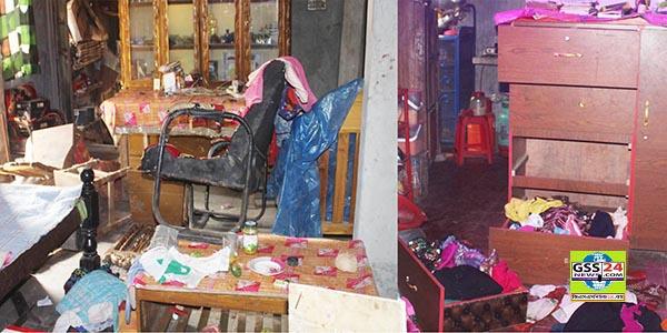 লাকসামে মাদক সেবনে বাধা দেয়ায় বসত ঘরে হামলা ভাংচুর, লুটপাট