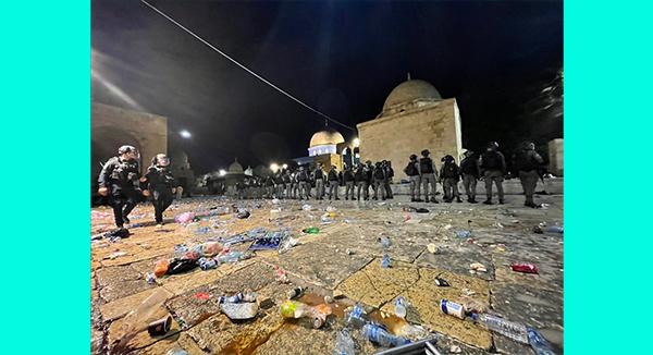আল-আকসা মসজিদে ইস্রায়েলি বাহিনীর হামলার তীব্র নিন্দা জানিয়েছে সৌদি আরব