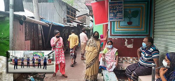 পটুয়াখালীতে লকডাউনে কঠোর অবস্থানে প্রশাসন: দুর্বিষহ জীবন যাপনে যৌনপল্লীর যৌনকর্মীরা